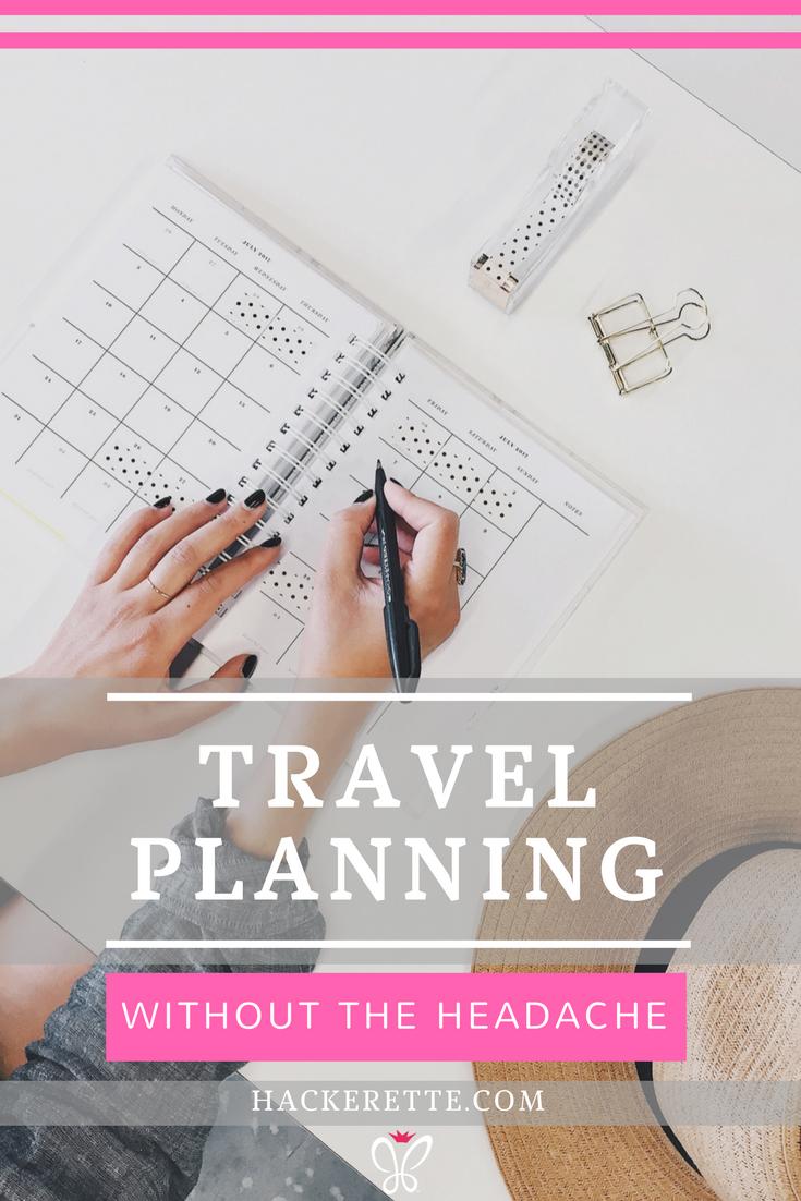 Travel Planning 2